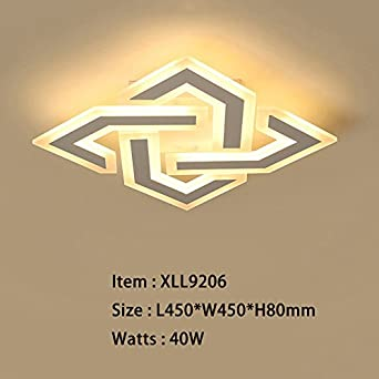 Renshengyizhan@ New Style Modern LED Ceiling Light for ...