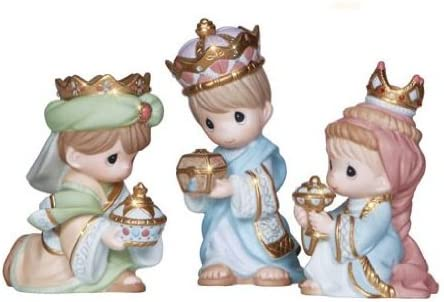 Precious Moments We Three Kings – 3 Piece Figurine Set – Porcelain Christmas New 2013 131033-PM