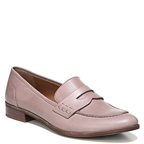 Franco Sarto Womens Jolette Penny Loafer Wood Rose Leather Oytby