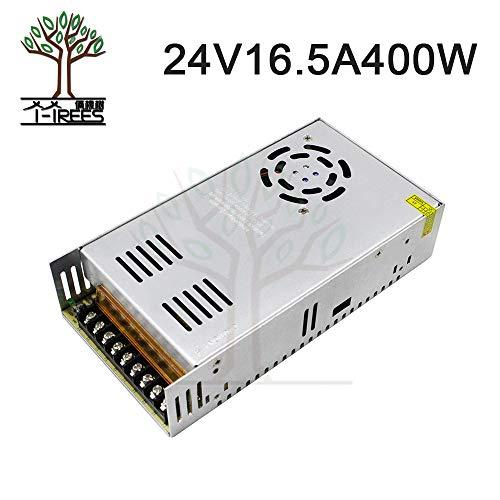 Value-Home-Tools - Single Output Switching power supply 24V 16.5A 400W Transformer 110V 220V AC To DC 24V 16.5A SMPS For Led Strip 3D printer ()