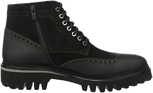Noir 90 Homme Noir Rangers Lagerfeld Stiefel Boots amp; Herren Stiefeletten Karl RzPaqwav