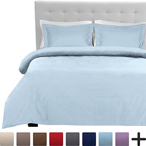 Luxury 3 Piece Duvet Cover and Sham Set - Premium 1800 Ultra