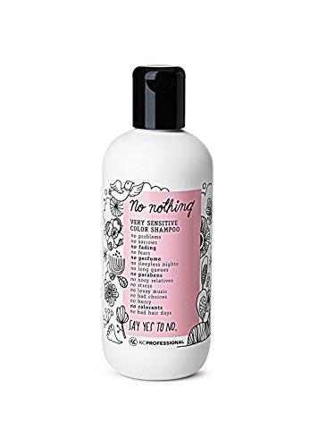 No Nothing Very Sensitive Color Shampoo - 100% Vegan, Hypoallergenic, Fragrance Free, Paraben Free - 10.15 oz