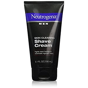 Neutrogena Men Skin Clearing Shave Cream - 5.1 Oz (pack of 6)