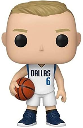 Funko Pop NBA: Dallas Mavericks-Kristaps Prozingis Figura Coleccionable, Multicolor (44278)