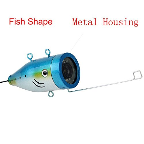 Authentic 7 color lcd hd underwater video camera system for Fishing line camera