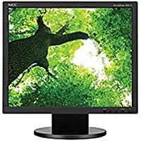 NEC Monitor AccuSync AS172-BK 17 LED LCD Monitor - 5:4 - 5 ms - Adjustable Monitor Angle - 1280 x 1024 - 16.7 Million Colors - 250 Nit - 1,000:1 - SXGA - DVI - VGA - 11 W - (Certified Refurbished)