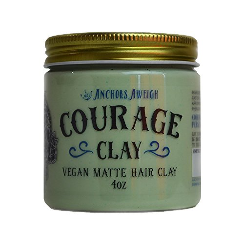 Courage Clay – Vegan Matte Hair Clay // Handmade