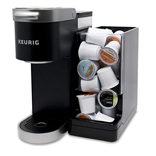 Never Run Out of Coffee - WePlenish Java - Smart Coffee Pod Holder with Amazon Dash Replenishment Built In | Nespresso Capsule and Keurig K-Cup Holder - Black by WePlenish (Image #4)