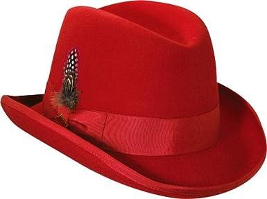 698777eaabb96 Stacy Adams Men's Homburg at Amazon Men's Clothing store: Homburg Hat