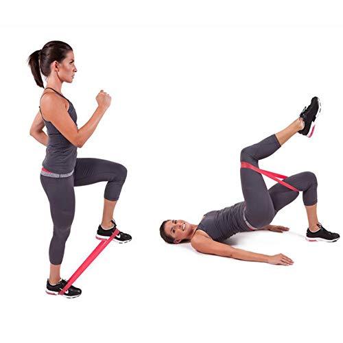 Arelead Banda De Resistencia Loop Yoga Pilates Inicio Gym Fitness Ejercicio Entrenamiento Entrenamiento: Amazon.es: Deportes y aire libre