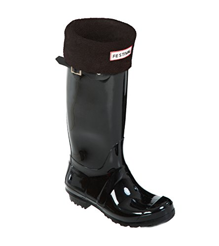 Rain Warm Black Tall Boots Winter UK Black Wellington Original Wellies 9 P Ladies 3 Sizes 1pIwT1