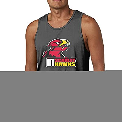 RCINC Personalized Illinois Logo Institute Trendy Vest Black