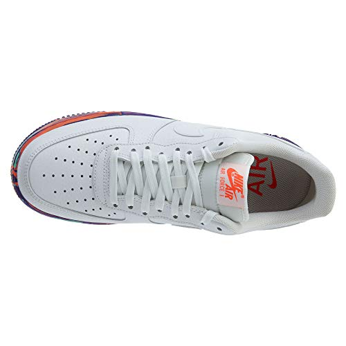 Air EU Bianco Force Nike Leather 5 40 1 LV8 Pelle Sneakers 07 Uomo qUOCz1