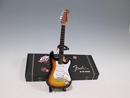 [해외]소형 기타 Axe Heaven フェンダ?ストラトキャスタ? 클래식 햇살 FS-001 / Miniature Guitar Axe Heaven Fender Stratocaster Classic Sunburst FS-001