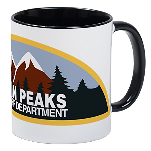 CafePress - Twin Peaks Sheriff Department Mug - Unique Coffee Mug, Coffee Cup