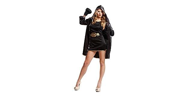 DISBACANAL Disfraz de boxeadora para Mujer - Único, M: Amazon.es ...