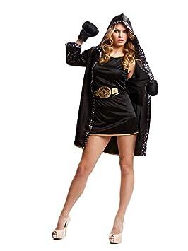 DISBACANAL Disfraz de boxeadora para Mujer - Único, M: Amazon.es: Juguetes y juegos