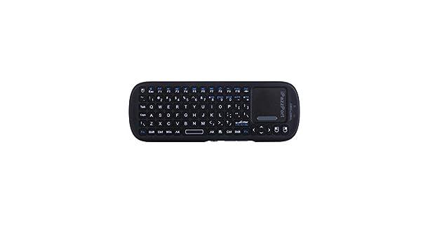 iPazzPort KP – 810 – 19S 2.4 G Wireless Mini Keyboard Multi de Touchpad de mano Super sensibilidad de Multi-Touch de teclado para PC, Android Smart TV: Amazon.es: Informática