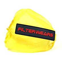 FILTERWEARS Yellow Water Repellent Pre-Filter K213Y Fits K&N Air Filter HA-3093 HONDA TRX300 FOURTRAX