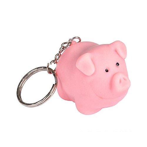 2'' Naughty Pig Keychain by Bargain World