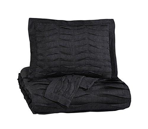 Ashley Furniture Signature Design - Voltos Comforter Set - Includes Duvet Cover & 2 Shams - King Size - -