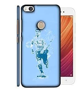 ColorKing Football Suarez Uruguay 06 Blue shell case cover for Xiaomi Mi Max 2