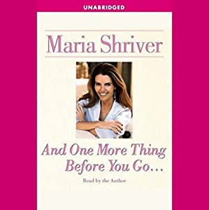 And One More Thing Before You Go... Audiobook