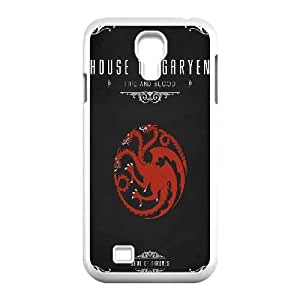 Game Of Thrones House Targaryen Samsung Galaxy S4 9500 Cell Phone Case White&Phone Accessory STC_196759