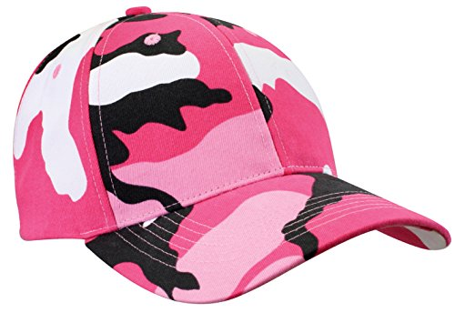 Rothco Low Profile Cap, Pink Camo ()