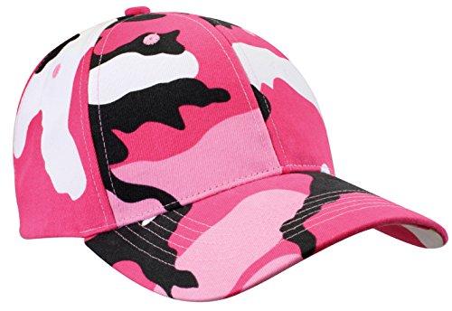 Rothco Color Camo Supreme Low Profile Cap, Pink Camo