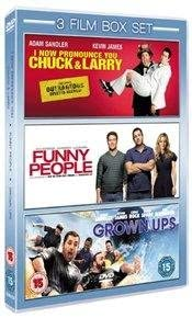 I Now Pronounce You Chuck And Larry Funny People Grown Ups Dvd Amazon Co Uk Adam Sandler Kevin James Jessica Biel Steve Buscemi Seth Rogen Leslie Mann Eric Bana Chris Rock David Spade Rob Schneider Dean