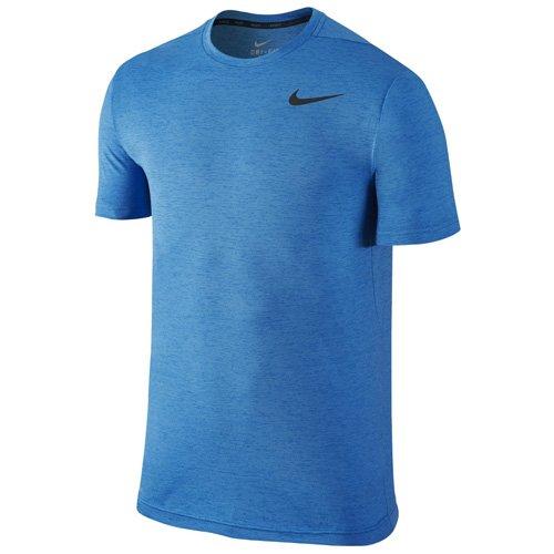 Nike Dri-Fit Touch Training Ultra Soft Men's T-Shirt Blue/Black 742228-435 (Size XL)