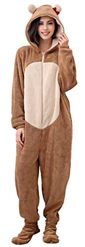 Richie House Women's Soft and Warm Fleece Pajama Suit RHW2780-A-S ()