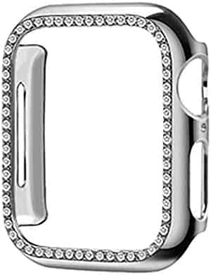 Tonsee Smart Watch, Protective Cover TPU Bling Diamond Crystal Shiny for Apple Watch 2/3 38/42 mm Steady and Secure,Durable and Stylish Watch