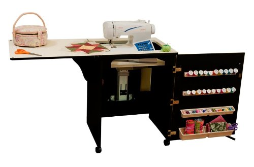 Arrow Sewing Cabinet Sewnatra Sewing Machine & Accessories Storage with