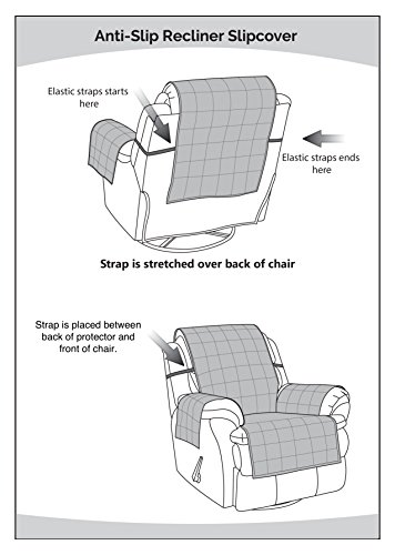 Amazon.com: Anti Slip Recliner Slipcover Recliner Cover, Recliner  Slipcover, Armchair Slipcover, Furniture Protector (Chocolate, Recliner  Chair): Home U0026 ...