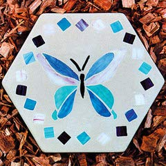 12-Inch Jennifers Mosaics Hexagon Outdoor Stepping Stone Mold