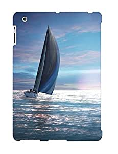 Fashionable GmtJuxL4698PUbKb Ipad 2/3/4 Case Cover For Sailing In The Dusk Protective Case With Design