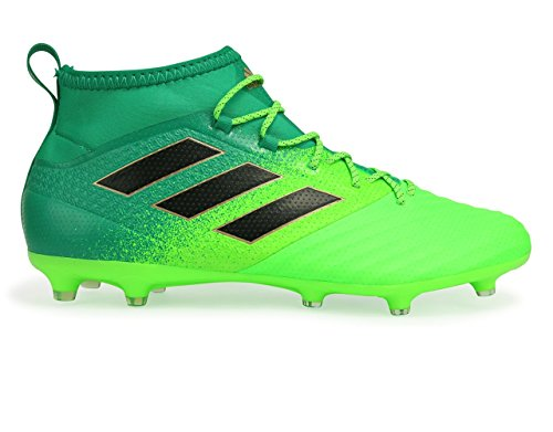 Adidas Mannen Ace 17,2 Primemesh Fg Zonne-groen / Kern Zwart / Kern Groene Voetbalschoenen