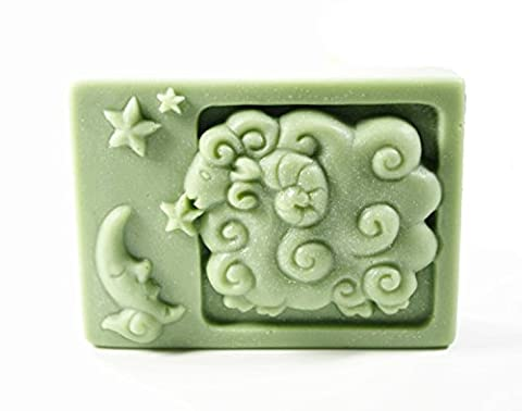 Longzang Constellation Mould Craft Art Silicone Soap Mold Craft Molds DIY Handmade Candle Molds (Aries)