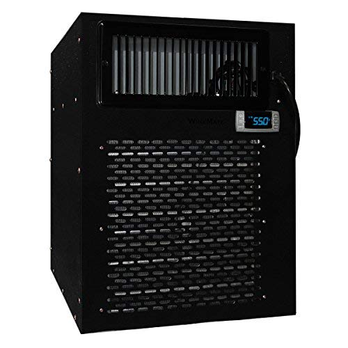 Vinotemp WM-4500HZD WM-4500HZD Self-Contained Wine Cellar Cooling System, WM-4500HZD, Black