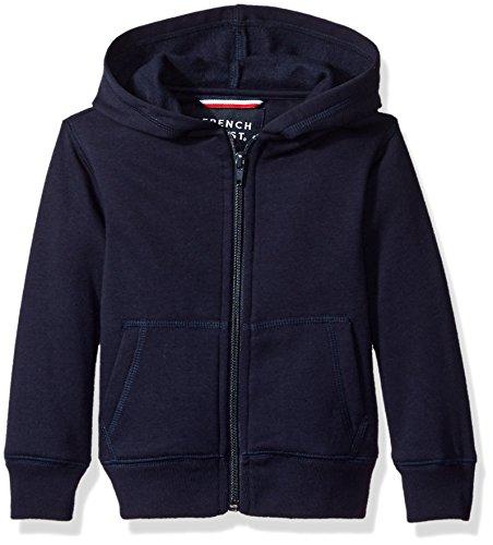 Navy Blue Hooded Jacket - 3