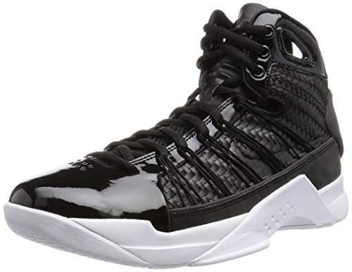 Nike Men's Hyperdunk Lux Basketball Shoes, Black (Black (Black/Black-Metallic Gold-Sail)), 10