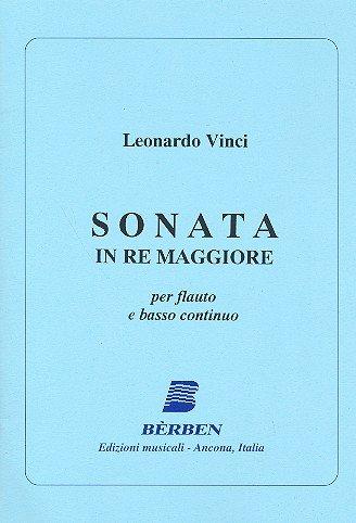 Sonata Re Maggiore: Per Flauto E Bc
