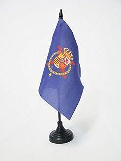 AZ FLAG Bandera de Mesa del ESTANDARTE del Rey Juan Carlos I DE ESPAÑA 15x15cm - BANDERINA de DESPACHO Real DE ESPAÑA 15 x 15 cm: Amazon.es: Hogar