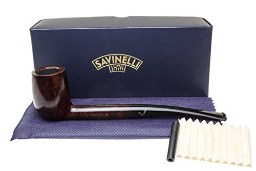 Savinelli Bings Favorite Smooth Tobacco Pipe by Savinelli