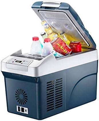 ZWH-ZWH カー冷蔵庫コンプレッサー12 / 24V DC/AC 220-240V、15L大容量カーデュアルユースミニ冷蔵庫冷凍庫。 車載用冷蔵庫