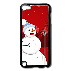 IPod Touch 5 Cases Snowman Sing Design Hard Back Cover Proctector Desgined By RRG2G