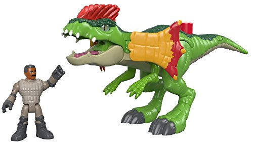 Fisher-Price Imaginext Jurassic World, Dilophosaurus & Agent